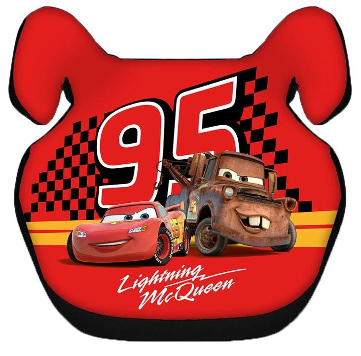Детское автокресло бустер CARS LIGHTNING MCQUEEN 15-36 кг для детей (дитяче автокрісло Тачки для дітей)