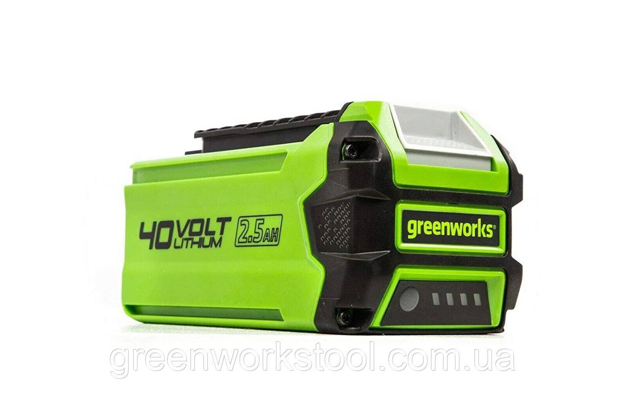 Аккумуляторная батарея Greenworks 40V  ( 2,5 А/ч) (100 Вт ч)