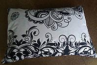 Наволочка ранфорс 50х70 - Чорно-білий узор, фото 1