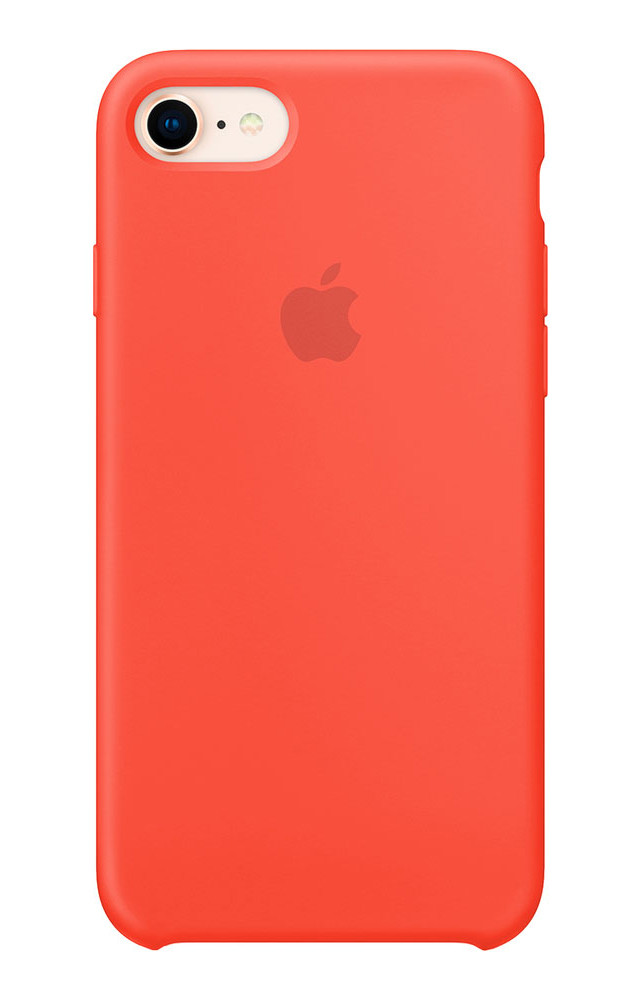 Задняя накладка Hi-Copy Silicone Case APPLE IPHONE 7   8 (№13 NEW APRICOT)