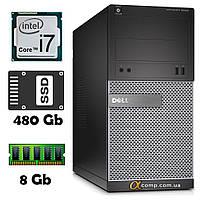Компьютер Dell 3020 (i7-4770S/8Gb/ssd 480Gb) БУ