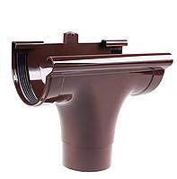 Зливоприймач прохідний Profil Д=130мм, колір коричневий
