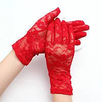 Гипюровые перчатки, фото 1