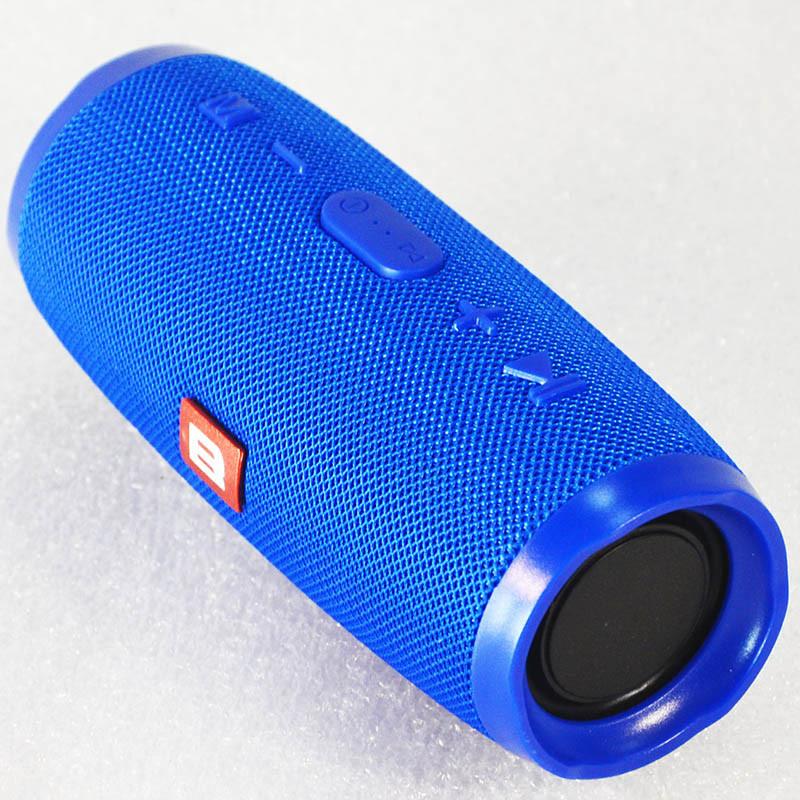 """Колонка Bluetooth """"B"""" Charge 3+ Mini Синий"""