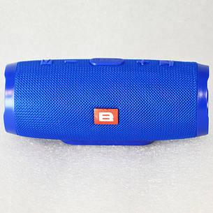 """Колонка Bluetooth """"B"""" Charge 3+ Mini Синий, фото 2"""