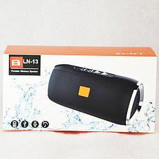 Колонка Bluetooth B LN-13 Чорний, фото 3