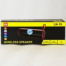Колонка Bluetooth B LN-19 Чорний, фото 3