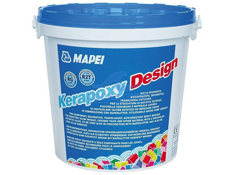 Епоксидна затирка для швів Kerapoxy Design / 700 прозорий / Mapei, 3 кг