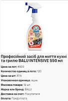 Профессиональное средство для мытья кухни и гриля BALU INTENSIVE 550мл