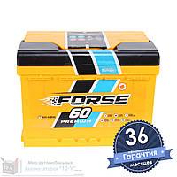 Аккумулятор автомобильный FORSE 6CT 60Ah, пусковой ток 600А (Низкий) [+ –]