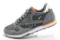 Кроссовки мужские в стиле Reebok Classic Leather 'Concept Sample' Gray\White\Orange
