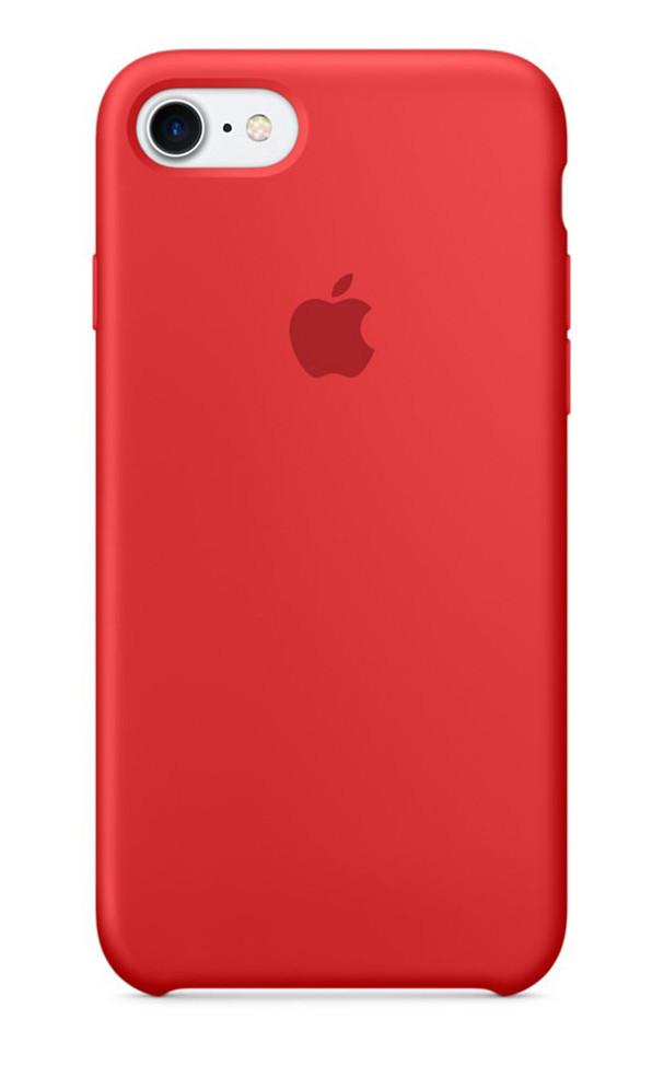 Задняя накладка Hi-Copy Silicone Case APPLE IPHONE 7 | 8 (№14 RED)