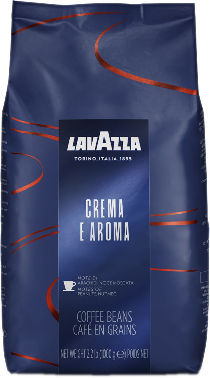 Кофе в зернах LAVAZZA лаваца (лавазза) Crema e Aroma. Италия. Оригинал!