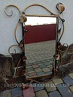 Зеркало в кованой раме  (850х600х30 мм), фото 1