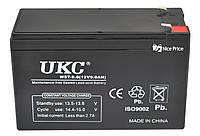 Акумулятор батарея UKC WST-9.0 12V 9Ah Black (2386)