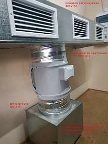 Монтаж приточно-вытяжной вентиляции в помещении серверной 1