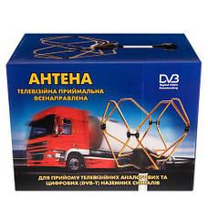 Антена TV/FM КОРОНА 12/24V (12шт), фото 2