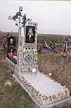 Надгробия из гранита и крошки в Луцке, фото 5