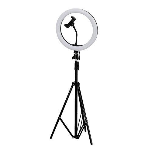 Професійна кільцева лампа RL-18 (2) з штатив-триногою для косметології