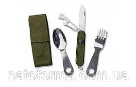 Столовий набір Mil-tec ложка, виделка, ніж