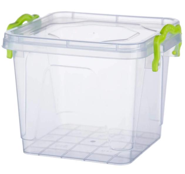 Контейнер Ал-Пластик квадратный (1,55л)