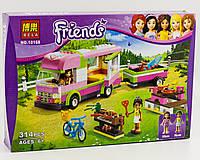 Конструктор Bela Friends Френдс 10168 Оливия и домик на колёсах (аналог Lego Friends 3184)