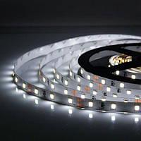 5м Світлодіодна LED стрічка 60smd 2835 12v Біла, негерметична