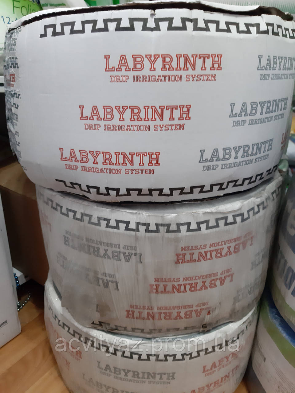 Капельная лента Лабиринт (Labyrint) 8 милз 1000 м 20 см