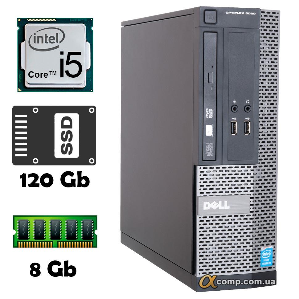 Компьютер Dell 3020 (i5-4430/8Gb/ssd 120Gb) desktop БУ