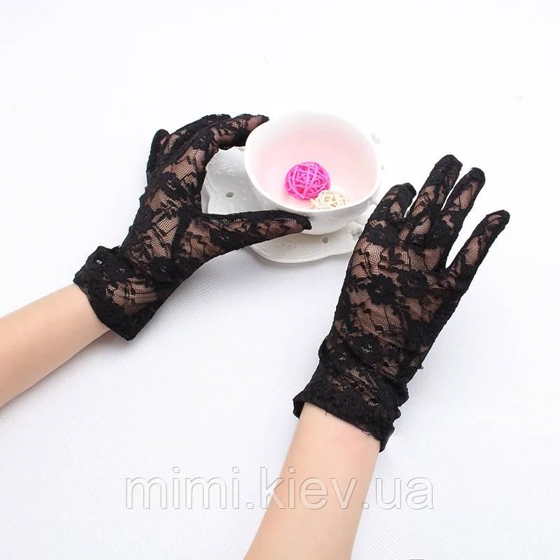 Гипюровые перчатки