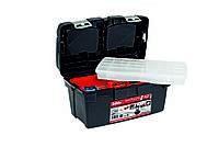 Ящик для инструментов Tayg Box 500-Е (Испания), 50х29,5х27см с блокирующей ручкой, вкладкой и органайзером