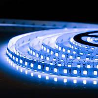 5м Світлодіодна LED стрічка 120smd 2835 12v Синя, негерметична