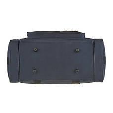Дорожная сумка MAGDA 25х45х21 ткань полиэстер 600Д цвет синий  кс18син, фото 3
