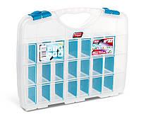 Органайзер пластиковый Tayg Home 22(Испания) с 21 мобильной перегородкой 31,2*23,8*5,1см (022593)