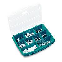 Органайзер пластиковый Tayg Box 24-26 для метизов 46х35х8,1см, с ручкой и мобильными перегородками(024009)