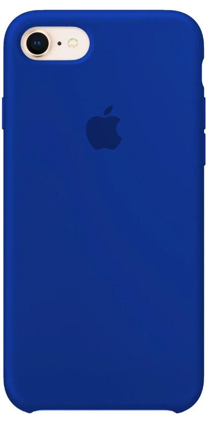 Задняя накладка Hi-Copy Silicone Case APPLE IPHONE 7   8 (№40 ULTRA BLUE)