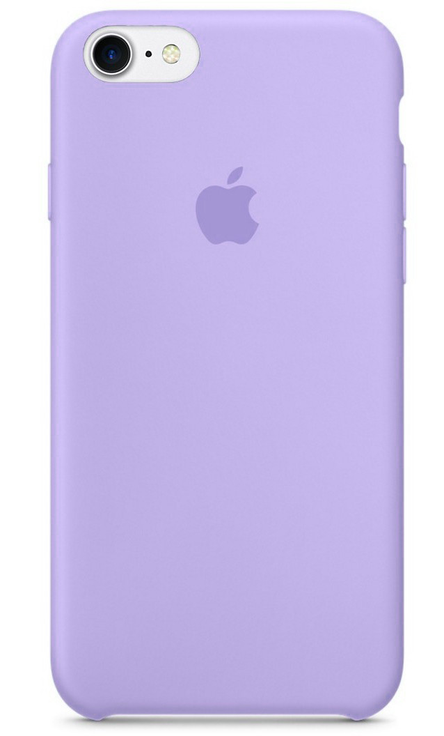 Задняя накладка Hi-Copy Silicone Case APPLE IPHONE 7   8 (№41 LILAC)