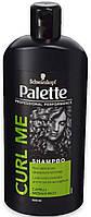 Шампунь профессиональный Palette для кучерявых волос, 500мл