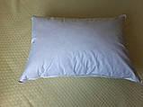 Пуховая, натуральная, мягкая,  невысокая  подушка 50×70, фото 4