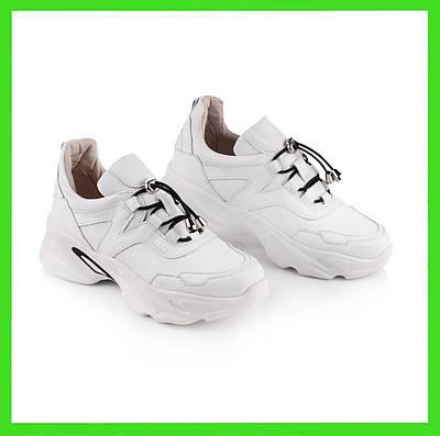 Белые женские кроссовки  высокие   36-41 белый