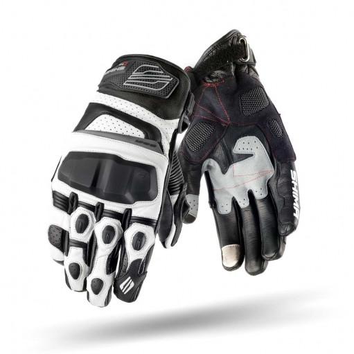 Мотоперчатки Shima XRS White
