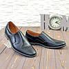 """Мужские кожаные туфли черного цвета от производителя ТМ """"Maestro"""", фото 4"""