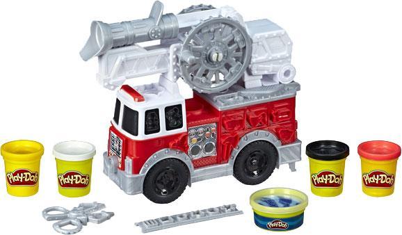 Play-Doh Игровой набор Пожарная Машина, E6103