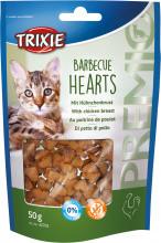 Лакомство для кошек и котят trixie PREMIO Barbecue Hearts курица 50г