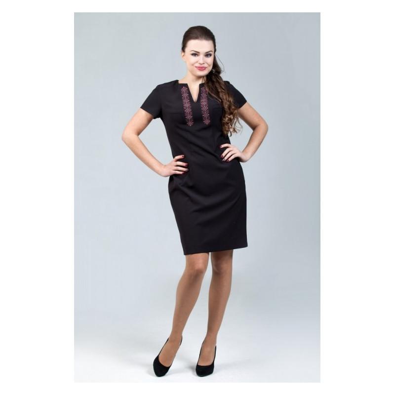 Платье женское Petro Soroka модель МТ-2072-04 черное