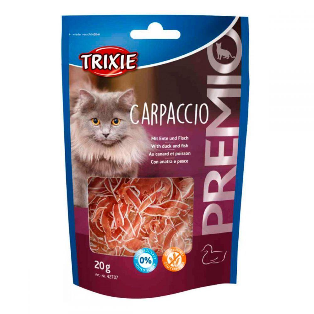 Лакомство для кошек и котят trixie PREMIO Carpaccio утка/рыба 20г