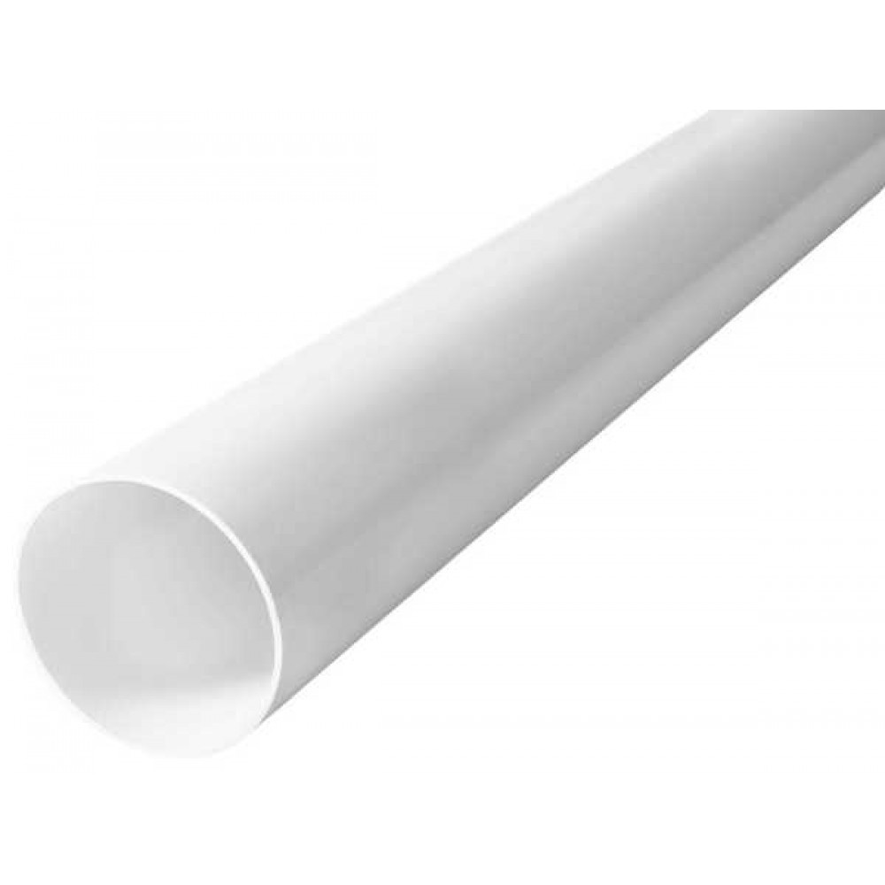 Труба водосточная Profil Д=100мм, дл.=3000мм, цвет белый
