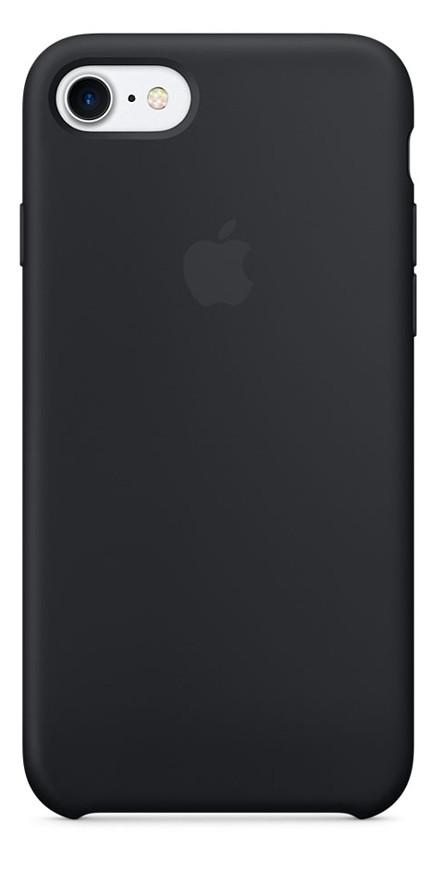 Задняя накладка Hi-Copy Silicone Case APPLE IPHONE 7 | 8 (№18 BLACK)