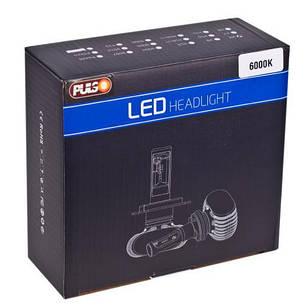 Лампи PULSO S1/H7/LED-chips CSP/9-32v2*25w/4000Lm/6000K, фото 2