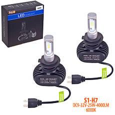 Лампи PULSO S1/H7/LED-chips CSP/9-32v2*25w/4000Lm/6000K, фото 3